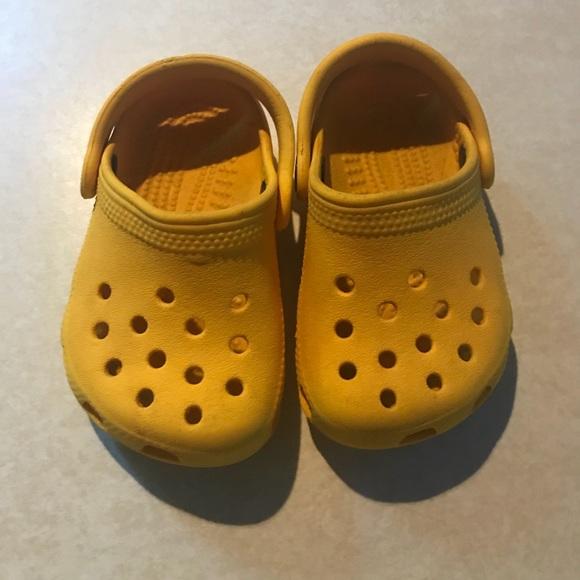 b526e117ce92 CROCS Other - Yellow Baby Crocs